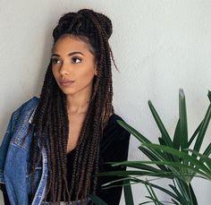 Crochet braids marley hair signs 31 Ideas for 2019 Box Braids Hairstyles, Summer Hairstyles, Straight Hairstyles, Hairstyles 2018, Crochet Braids Marley Hair, Curly Hair Styles, Natural Hair Styles, Pelo Natural, Twist Braids