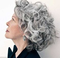haircuts for gray hair - Google Search