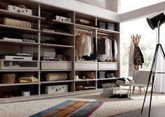Hermoso armario para que no tengas problemas con el espacio Bedroom Color Schemes, Bedroom Colors, Room Ideas Bedroom, Girl Inspiration, Dorm Room, Layout, Shelves, Curtains, Doors