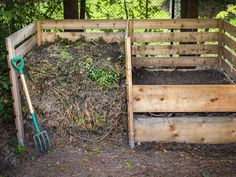 Compost - Serious gardeners and pros can make the most out of composting and soil condition. Revealing secret of using a compost pile to the fullest. [LEARN MORE] Outdoor Compost Bin, Wooden Compost Bin, Garden Compost, Garden Soil, Vegetable Gardening, Garden Works, Box Garden, Kitchen Gardening, Garden Plants