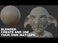Blender - Create and use your own Matcaps - English - YouTube
