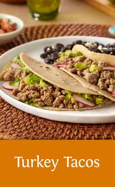 Tacos become a healthy option when you make them with low-fat ground turkey. Quick, easy, delicious and nutritious! Check out the recipe here http://buff.ly/1VnfDjR