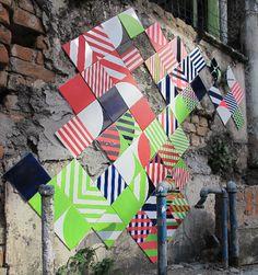Coletivo MUDA - tile art, Rio de Janeiro  http://coletivomuda.com.br/