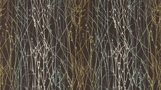Harlequin Kallianthi Grasses Fabric Peat/Duck Egg/Olive