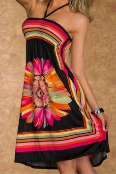 Floral Print Dress   ~☆~