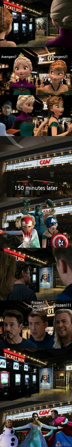 can we take a moment to appreciate this / marvel humor / Disney humor Avengers Humor, Funny Marvel Memes, Dc Memes, Marvel Jokes, Avengers And, Marvel Marvel, Disney Memes, Humour Disney, Funny Disney Jokes