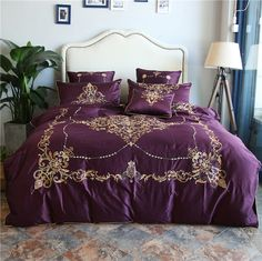 Luxury European Jacquard Bedding Sets Is Simple 77 - athomebyte Bedroom Comforter Sets, Best Bedding Sets, King Bedding Sets, Luxury Bedding Sets, Boho Bedding, King Size Duvet Covers, Duvet Cover Sets, Bed Covers, Wedding Bed