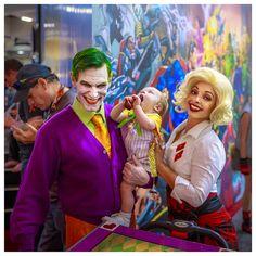 1950s Joker's family   Comic-con 2013