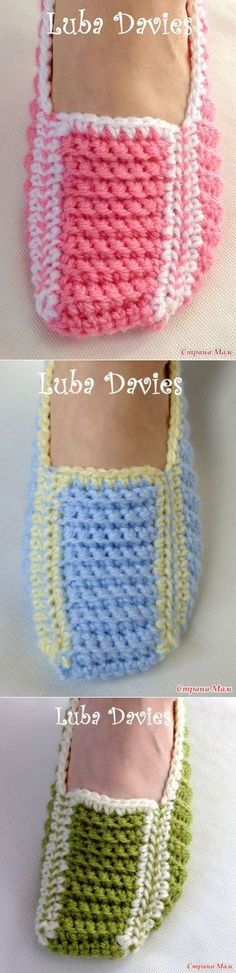 After # grandmothers # slippers # – # Knitting # – # Country # Moms – crochet pattern Crochet Boots, Love Crochet, Crochet Clothes, Crochet Baby, Knit Crochet, Crochet Crafts, Crochet Projects, Knitting Patterns, Crochet Patterns
