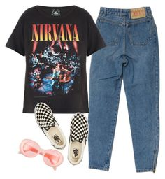 """crack rock"" by chanelandcoke ❤ liked on Polyvore featuring Trunk LTD, Vans and Acne Studios"