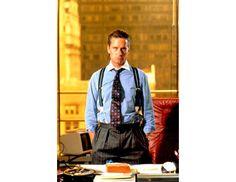Os atores mais elegantes do cinema segundo a GQ: Michael Douglas em Wall Street – Poder e Cobiça. #cinema