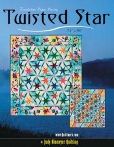 Twisted Star by Judy & Bradley Niemeyer, Quiltworx