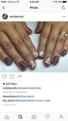 Great Nails, Love Nails, How To Do Nails, Fun Nails, Nail Designs Pictures, Hair Skin Nails, Creative Nails, Gorgeous Nails, Nails On Fleek