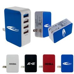 CPP-3901 - UL 4 Port USB Folding Wall Charger