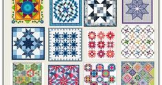 Star quilts (part Free Paper Piecing Patterns, Star Quilt Patterns, Pattern Blocks, Star Quilt Blocks, Star Quilts, Quilting Tutorials, Quilting Projects, Fabric Crafts, Sewing Crafts