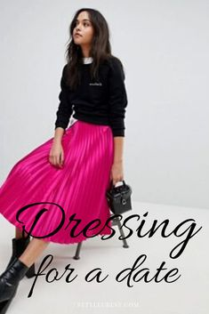 Dressing for a date might be stressful and frustrating.  Read my blog and you date will be a hit! Because whatever makes you feel desirous will lift your self-esteem and ensure that you stay yourself on the date. Read more... #date #outfit #style #fashion