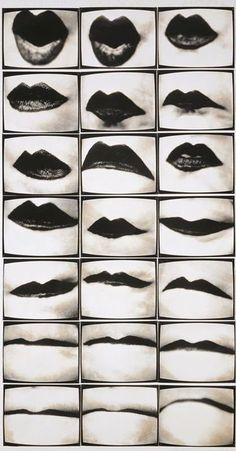 Mundwerk - 1974-75 - Photo by Friederike Pezold (German, b. 1945) - @Mlle