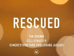 'Rescued,' the opening track on Through It All, is the song of the month for February! Download it for FREE at http://vineyardsongs.com/.…