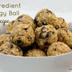 5 Ingredient Energy Ball Recipe