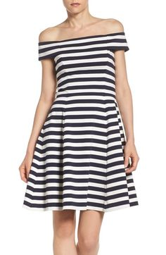 Chelsea28 Stripe Knit Dress available at #Nordstrom