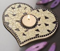 recycle craft ideas | recycling ideas: mosaic. spectacular gifts - crafts ideas - crafts for ...
