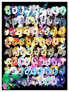 All the ponies