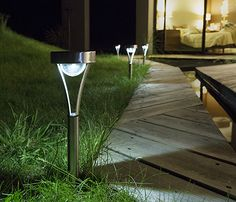 Xanlite Pack 3 balizas solares LED