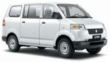 SUZUKI APV, With Driver & Petrol ( 10 hours/day ) Daily Rate IDR 525,000