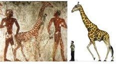 Pre-dynastic Egypt: notice size of people and the giraffes.