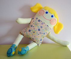 Jane of all Trades: Handmade Fabric Doll for Miss M.