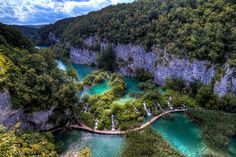 Plitvice Lakes National Park in Croatia. #vacation #travel Re-pinned by www.avacationrental4me.com
