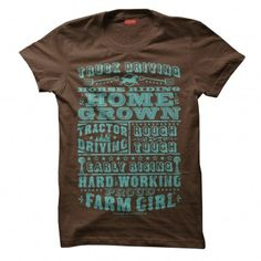 Farm Girl Type Tee