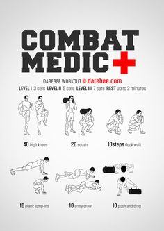 Combat Medic Workout (:Tap The LINK NOW:) We provide the best essential unique equipment and gear for active duty American patriotic military branches, well strategic selected. Sandbag Workout, Body Pump Workout, Calisthenics Workout, Gym Workout Tips, At Home Workouts, Workout Plans, Workout Fitness, Fitness Motivation, Military Workout
