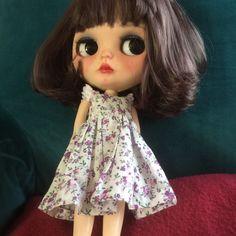 Custom Blythe Doll Janisa & # 039; s Couture Tmavá houpavý oblečený # 12 £ 334 Value | eBay