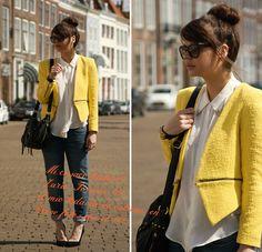 blazer amarillo mujer - Buscar con Google Amarillo ae463487b977