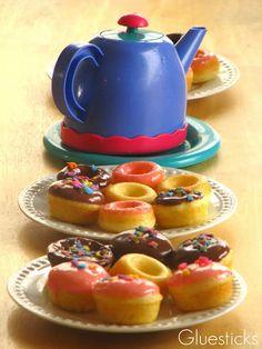 Gluesticks: Impromptu Tea Party & Mini Doughnuts