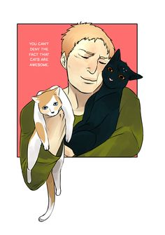 Attack on cats #reiner Attack on titan