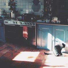 beautiful kitchen, beautiful light