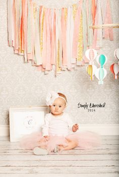 Little girl, 1st Birtday Photo session,