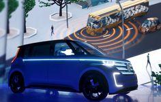 Helle Leuchte: Volkswagen gab auf der CES auch eine Partnerschaft mit dem...