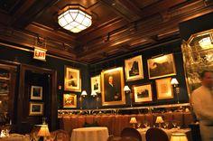 My Favorite restaurant in Chicago, RL (Ralph Lauren).  Beautiful and delicious.