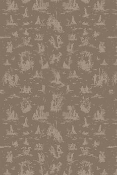 Timorous Beasties Fabric - Silhouette