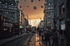 Oxford Street at Twilight. Ant Smith