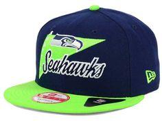 the latest 6d8cc 6a164 Seattle Seahawks New Era NFL Logo Stacker 9FIFTY Snapback Cap ( 10) Nfl  Logo,
