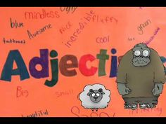 Kids could create description of adjectives in puppet pals- Grammar with Grog the Zombie: Adjectives 2nd Grade Grammar, 4th Grade Writing, Grammar And Punctuation, Teaching Grammar, Spelling And Grammar, First Grade Reading, Nouns And Adjectives, Adverbs, Word Study