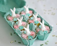 belle and boo rabbit cakes Easter Cupcakes, Easter Cookies, Easter Treats, Hoppy Easter, Easter Eggs, Easter Food, Belle And Boo, Easter 2015, Easter Parade