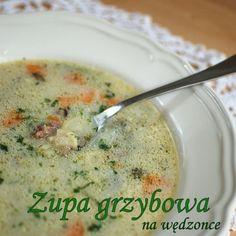 Zupa grzybowa na wędzonce