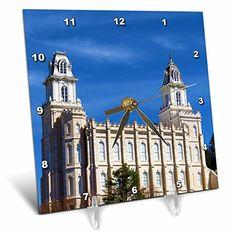 Utah Temples, Buy Desk, Desk Clock, Notre Dame, Amazon, Travel, Clock Table, Viajes, Riding Habit