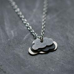 cloud cluster necklace.