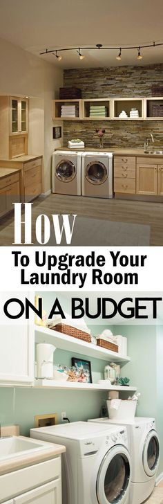 How to Upgrade Your Laundry Room on a Budget – Random Somethings